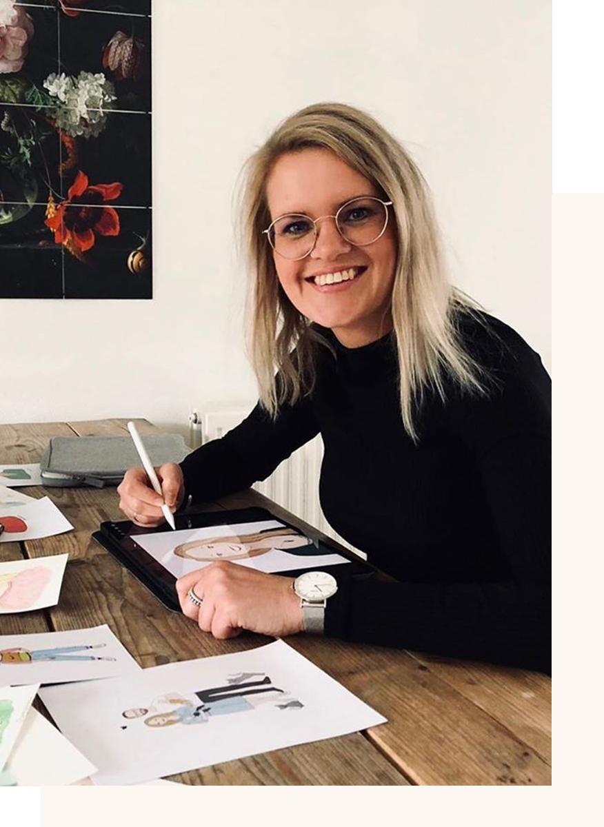 Schetsfabriek   Stefanie Jansen   Illustrator